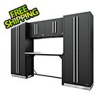 Proslat Fusion Pro 6-Piece Garage Workbench System (Silver)