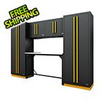 Proslat Fusion Pro 6-Piece Garage Workbench System (Yellow)