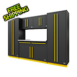 Proslat Fusion Pro 6-Piece Garage Cabinet System (Yellow)
