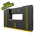 Proslat Fusion Pro 6-Piece Garage Cabinet System (Yellow)