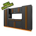 Proslat Fusion Pro 6-Piece Garage Cabinet System (Orange)