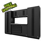 Proslat Fusion Pro 6-Piece Tool Cabinet System (Black)