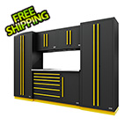 Proslat Fusion Pro 6-Piece Tool Cabinet System (Yellow)