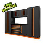 Proslat Fusion Pro 6-Piece Tool Cabinet System (Orange)