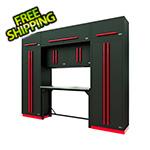 Proslat Fusion Pro 9-Piece Garage Workbench System (Barrett-Jackson Edition)