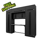 Proslat Fusion Pro 9-Piece Garage Workbench System (Black)