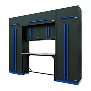 Fusion Pro 9-Piece Garage Workbench System (Blue)