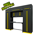 Proslat Fusion Pro 9-Piece Garage Workbench System (Yellow)