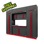 Proslat Fusion Pro 9-Piece Garage Cabinet System (Barrett-Jackson Edition)