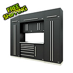 Proslat Fusion Pro 9-Piece Tool Cabinet System (Silver)