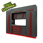 Proslat Fusion Pro 9-Piece Tool Cabinet System (Barrett-Jackson Edition)