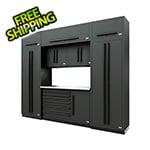 Proslat Fusion Pro 9-Piece Tool Cabinet System (Black)