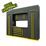 Proslat Fusion Pro 9-Piece Tool Cabinet System (Yellow)