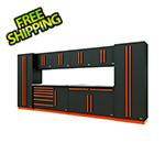 Proslat Fusion Pro 10-Piece Tool Cabinet System (Orange)