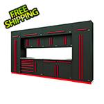 Proslat Fusion Pro 14-Piece Garage Cabinet System (Barrett-Jackson Edition)
