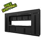 Proslat Fusion Pro 14-Piece Garage Cabinet System (Black)