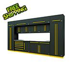 Proslat Fusion Pro 14-Piece Garage Cabinet System (Yellow)