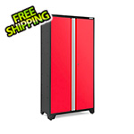 "NewAge Garage Cabinets BOLD 3.0 Series 42"" Red Locker"