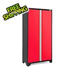 """NewAge Garage Cabinets BOLD 3.0 Series 42"""" Red Locker"""
