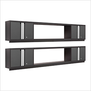 BOLD Series 3.0 Grey 6-Piece Wall Cabinet System