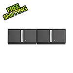 "NewAge Garage Cabinets 2 x BOLD Series 3.0 Grey 36"" Wall Cabinets"