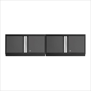 "2 x BOLD Series 3.0 Grey 36"" Wall Cabinets"