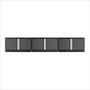 "3 x BOLD Series 3.0 Grey 36"" Wall Cabinets"