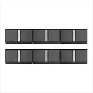 "6 x BOLD Series 3.0 Grey 36"" Wall Cabinets"
