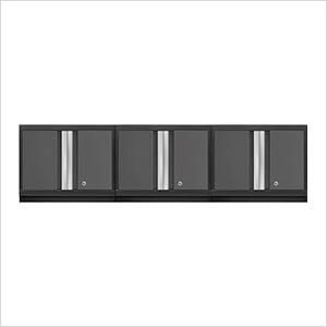 3 x BOLD Series 3.0 Grey Wall Cabinets