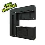 Proslat Fusion Pro 7-Piece Tool Cabinet System (Black)