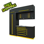 Proslat Fusion Pro 7-Piece Tool Cabinet System (Yellow)