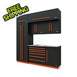 Proslat Fusion Pro 7-Piece Tool Cabinet System (Orange)