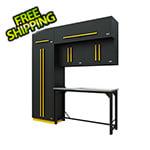 Proslat Fusion Pro 7-Piece Garage Workbench System (Yellow)