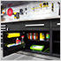 Fusion Pro 7-Piece Garage Cabinet System (Silver)