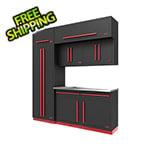 Proslat Fusion Pro 7-Piece Garage Cabinet System (Barrett-Jackson Edition)