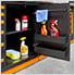Fusion Pro 7-Piece Garage Cabinet System (Orange)