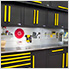 Fusion Pro 10-Piece Tool Cabinet System (Yellow)
