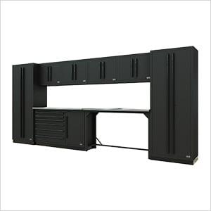 Fusion Pro 10-Piece Workbench System (Black)