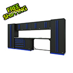 Proslat Fusion Pro 10-Piece Tool Workbench System (Blue)