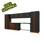 Proslat Fusion Pro 10-Piece Workbench System (Orange)