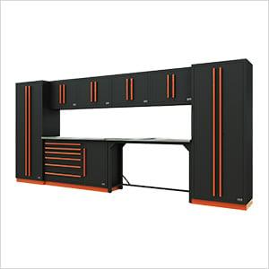 Fusion Pro 10-Piece Workbench System (Orange)