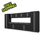 Proslat Fusion Pro 10-Piece Garage Storage System (Silver)