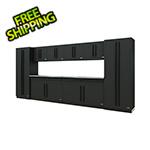 Proslat Fusion Pro 10-Piece Garage Storage System (Black)