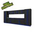Proslat Fusion Pro 10-Piece Garage Storage System (Blue)