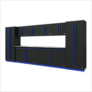 Fusion Pro 10-Piece Garage Storage System (Blue)