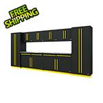 Proslat Fusion Pro 10-Piece Garage Storage System (Yellow)