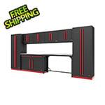 Proslat Fusion Pro 10-Piece Garage Cabinet System (Barrett-Jackson Edition)