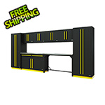 Proslat Fusion Pro 10-Piece Garage Cabinet System (Yellow)