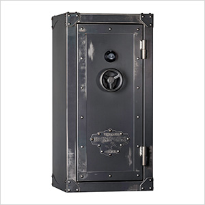 Ironworks 85 Minute Fire Rated 35 Long Gun Safe with Electronic Lock