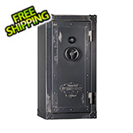 Rhino Metals Ironworks 85 Minute Fire Rated 35 Long Gun Safe with Dial Lock